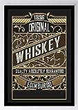 Retro Vintage Whiskey Plakat Kunstdruck Poster -ungerahmt-