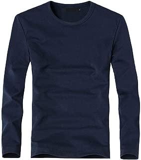 NISO p Men's Outdoor Sport V-Neck/O-Neck Long Sleeve T-Shirt Tees Elastic T Shirt Business Man Tees