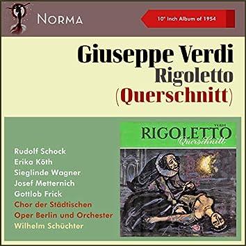 """Giuseppe Verdi: Rigeletto (Querschnitt) (10"""" Album of 1954)"""