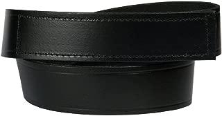 Men's No-Scratch Mechanic Belt, 100% Top Grain One Piece Leather, 1.5