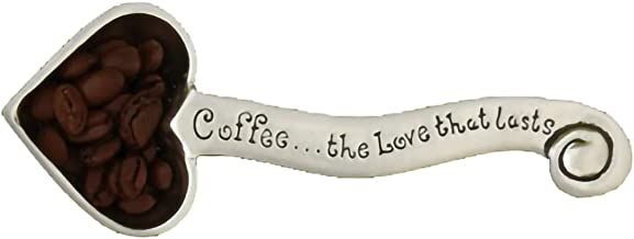 Basic Spirit Décor Coffee Scoop - Heart - Home Decorative kit, Kichen Measuring Gift for Coffee, Tea, Protein Powder, and ...