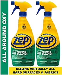 Zep All-Around Oxy Cleaner 32 Ounce ZUAOCD32 (Pack of 2) - Great for Pet Messes, Upholstery, Hard Surfaces, and More!