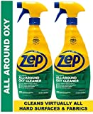 Zep All-Around Oxy Cleaner & Degreaser 32 Ounce ZUAOCD32 (Pack of 2) - Great for Pet Messes, Upholstery, Hard Surfaces, and More!