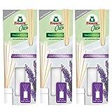 3x Frosch Oase Raumerfrischer Lavendeltraum Nachfüllpack 90 ml