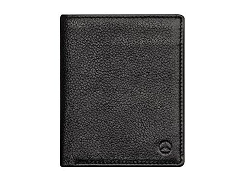 Mercedes Benz Geldbörse mit RFID Schutz Herren Schwarz