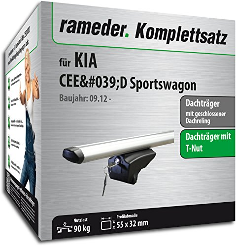 Rameder Komplettsatz, Dachträger Pick-Up für KIA CEE\'D Sportswagon (111286-10750-1)