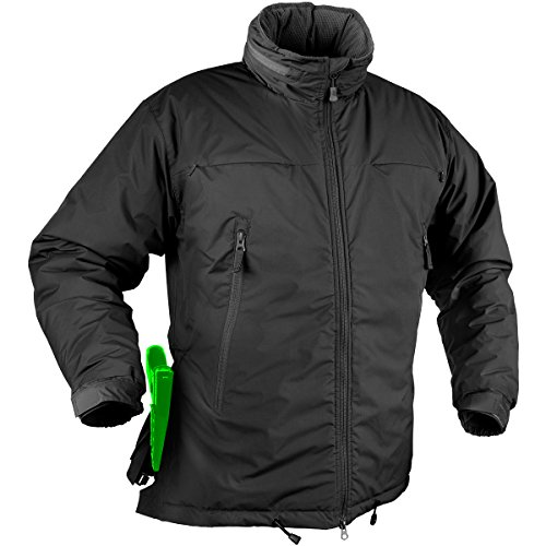 Helikon Husky Winter Taktische Jacke Schwarz Größe M