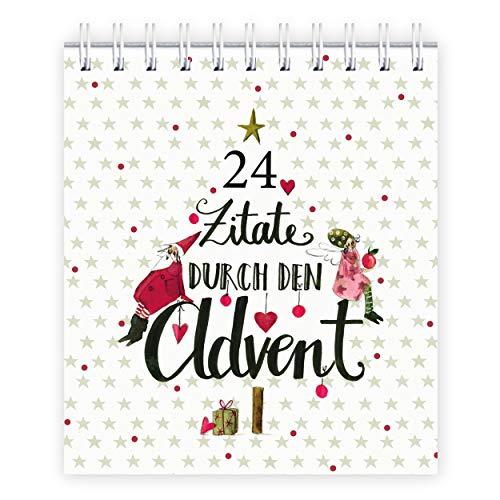 Adventskalender 24 Zitate durch den Advent