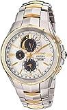 Seiko - Reloj casual de cuarzo para hombre, de acero inoxidable, color: dos tonos (modelo: SSC560)