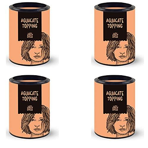 Just Spices Aguacate Topping Caja de 4 I La mezcla de especias para el aguacate I También para ensaladas y cuencos I Práctica caja de 4