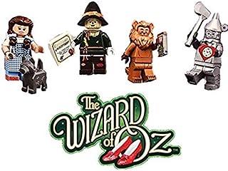 LEGO The Movie Series 2 Wizard of Oz Minifiguras, Dorthy, The Tin Man, Scare Crow, The Cowardly Lion (71023)