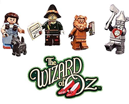 LEGO The Movie 2 Der Zauberer von OZ Dorothy,Tin Man,Cowardly Lion and Scarecrow
