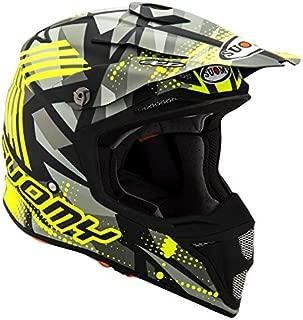 Suomy MX Speed Sergant Matte Yellow Grey Helmet size Medium