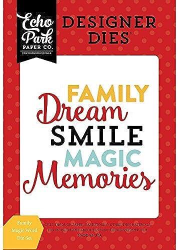 Echo Park Magical Adventure Word Set Family Magic by Echo Park Paper