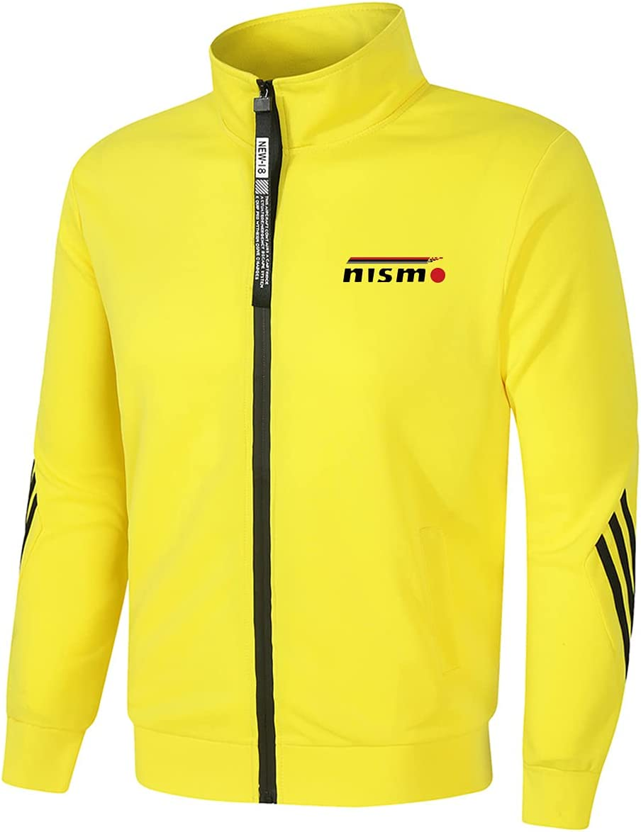 Men's Outdoor Casual NIS_mo Jacket Max 46% OFF Zip Tracksuit Sales of SALE items from new works Stand- Cardigan