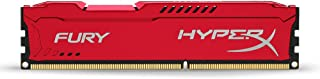 Kingston HyperX FURY 4GB 1600MHz DDR3 CL10 DIMM - Red (HX316C10FR/4)