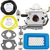 Vergaser für ZAMA C1U-K16A C1M-K49 C1M-K49 C1M-K49A C1M-K49B C1M-K49C Teilenummer O455K5/U 7RK-B225075 Zama Vergaser - Echo PB603 Vergaser Teile Kit für Motorschneefräse (C1M-K49)