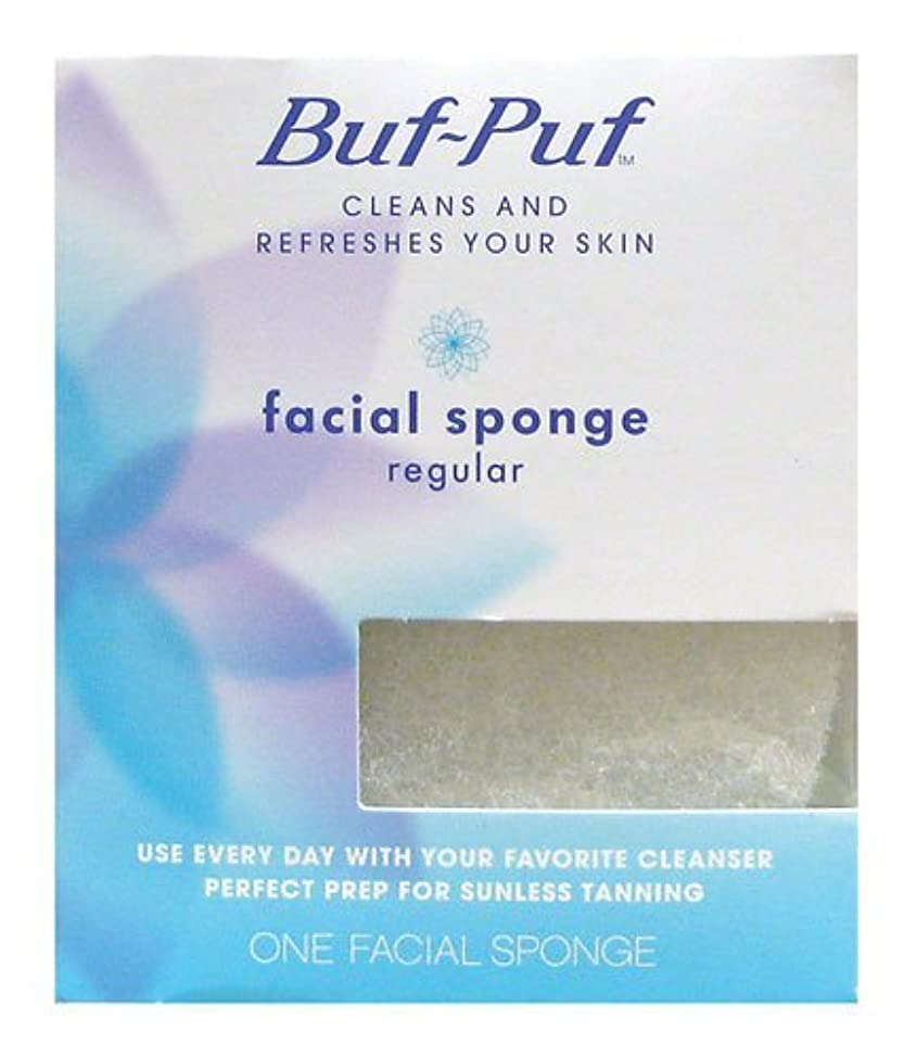 Buf-Puf Facial Sponge (Regular) 1 Unit (Pack of 2)