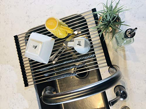 Seaborne Stainless Steel Dish Drying Rack $14.59 (42% Off)
