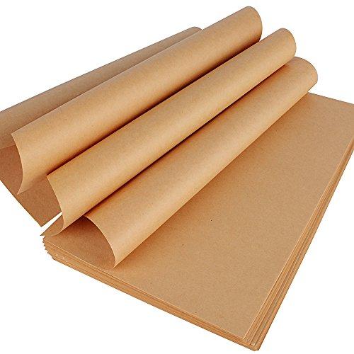 200 Blatt Papier Braun DIN A4 70g/m² Braunes Papier Schreibpapier Retro Vintage Kraftpapier bedruckbar zum Schreiben Basteln Origami malen bedrucken DIY Handwerk
