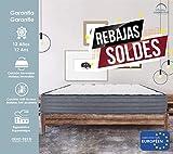 Lisabed Flex | Colchón Olinda-Flex 135 x 190 | Viscoelástico de Grafeno de Alta Densidad | Reversible Invierno/Verano | Gama Prestige Hotel | Todas Las Medidas