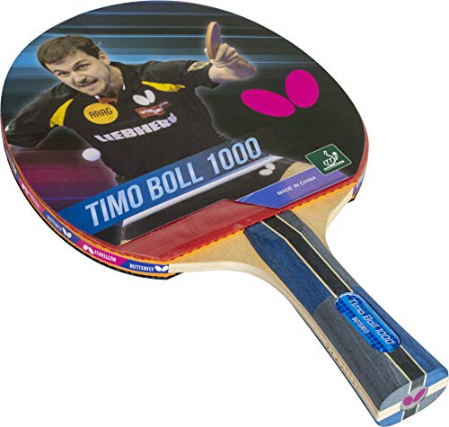 Butterfly Timo Boll Shakehand Ping Pong Paddle - Good Speed and...
