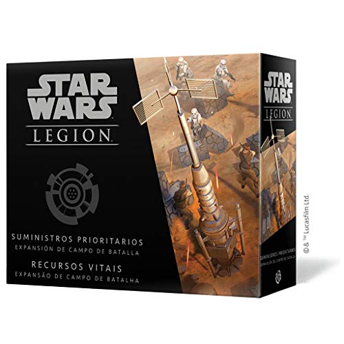Fantasy Flight Games- Star Wars Legion: Suministros Prioritarios - Español, Color (FFSWL16)