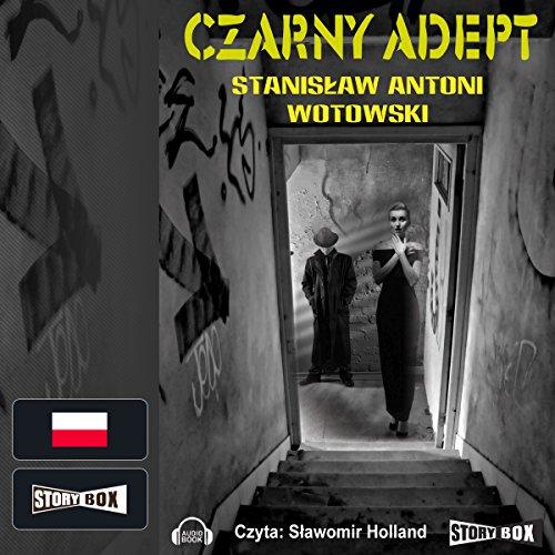 Czarny adept audiobook cover art