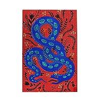 1000ピース ジグソーパズル 蛇柄 ジグソーパズル 木製パズル Puzzles 50x75cm(6歳以上が適しています)