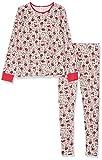 Skiny Mädchen Cosy Night Sleep Girls Pyjama lang Zweiteiliger Schlafanzug, Mehrfarbig (Rosered Fox 2169), (Herstellergröße: 164)