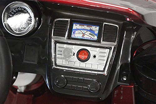 RC Auto kaufen Kinderauto Bild 2: Kaufexpress Mercedes Benz GL63 AMG Jeep SUV Lizenz Kinderfahrzeug mit 2X 35W Motor Kinderauto Elektroauto Fernbedienung MP3 Anschluss in Weiß*