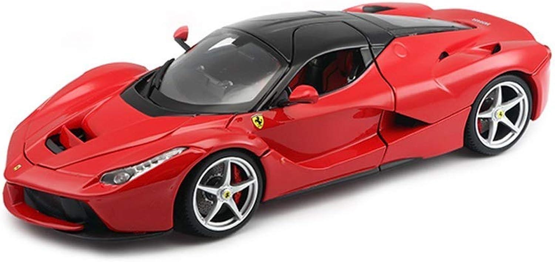 descuentos y mas KKD Escala Modelo Simulación Vehículo Vehículo Vehículo Simulación Ferrari Alloy Coche Model Laferrari Sports Coche Model Proporción de regalos 1 18 Ferrari 488 Juguete Coche, Coleccionables, Aficiones ( Color   rojo )  Con 100% de calidad y servicio de% 100.