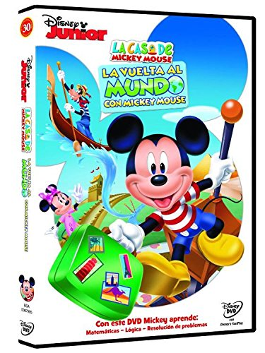 La Casa De Mickey Mouse: La Vuelta Al Mundo Con Mickey Mouse [DVD]