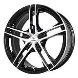 Verde Custom Wheels Protocol Black Wheel with Machined Lip (15x7'/5x115 mm)