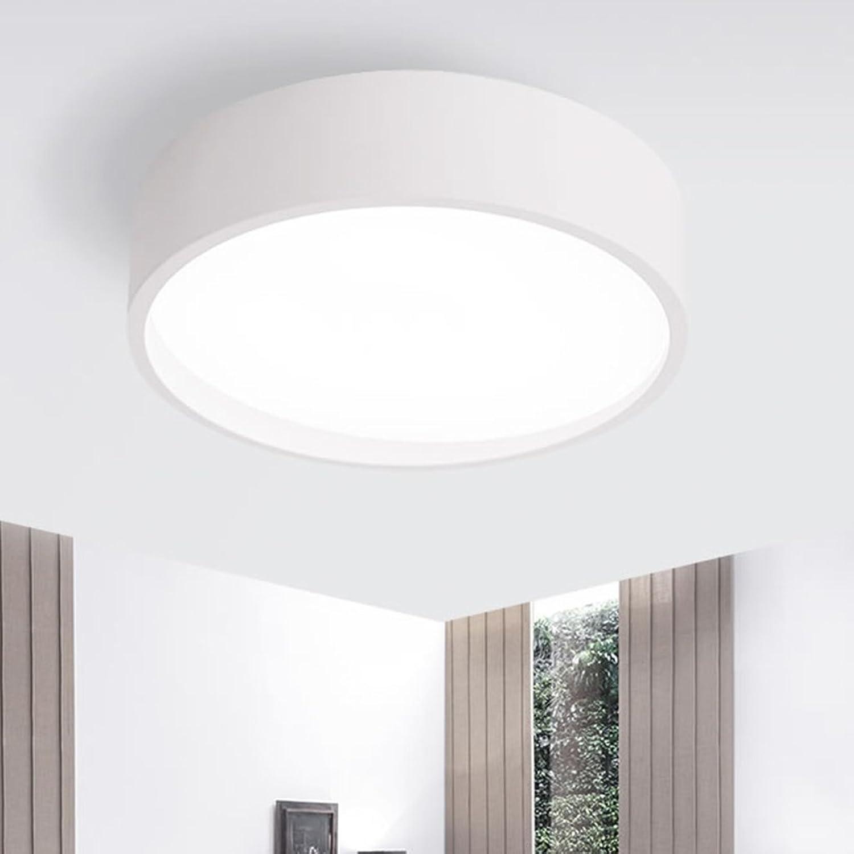 Kronleuchter Einfache Runde LED Deckenleuchte Moderne Wohnzimmer Schlafzimmer Lichter Study Lampe Warm Zimmer Lichter Mysterious Lichter Gang Licht Hnge- & Pendelleuchten (Größe   Small  25  10 cm)