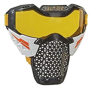 NERF Ultra Battle Mask -- Adjustable Head Strap Breathable Design -- Wearable Face Shield Ultra Battlers