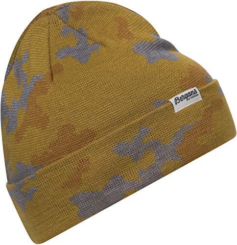 Bergans Camouflage Beanie Mustard Yellow/Light inca Gold/alu 2020 Kopfbedeckung
