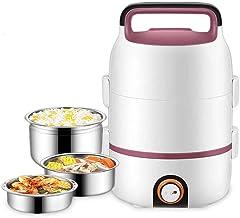 DYXYH Boîte personnelle électrique Déjeuner, Cuisinière électrique multifonction wok électrique Hot Pot for cuire le riz f...