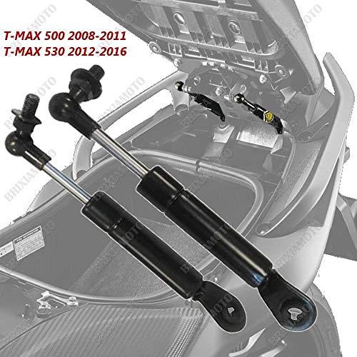 one by Camamoto par de amortiguadores de asiento/varilla para soporte de elevación de asiento compatible con yamaha 500 años 2008/2009/2010/2011 / 530cc año de 2012 a 2016 (yamaha t-max 500/530cc)
