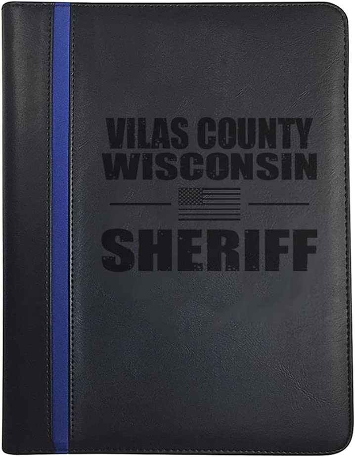 Wisconsin Vilas County Omaha Mall All Counties Sheriff Padfolio Note Ranking TOP8 Deputy