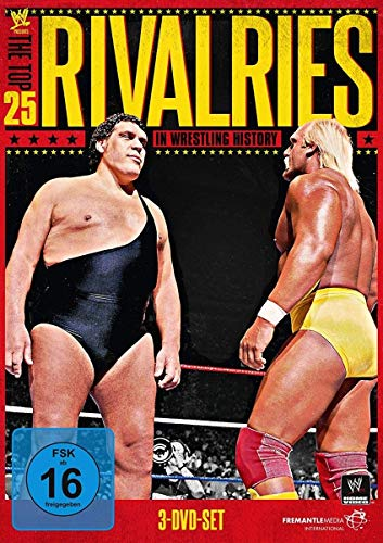 WWE Presents the Top 25 Rivalries in Wrestling History [3 DVDs]