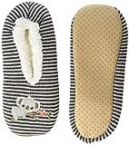 K. Bell Socks Women's Cozy Novelty Slippers, Koala (Denim Heather), S/M (KBWF20S006-01)