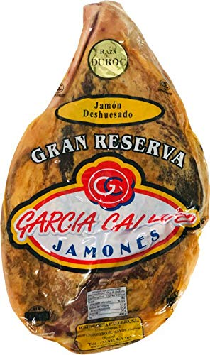 JAMÓN DESHUESADO GRAN RESERVA TRADICIONAL- CRUCE DUROC. 95,70€. ENTREGA 24-72 HORAS. 5 -5,5 Kg. GARCÍA CALLEJO