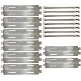 Sunshineey Replacement Parts Stainless Steel Grill Burners &Heat Plates Shield for Bakers and Chefs GR2039201-BC-00, GD430, ST1017-012939, Grill Chef, Members Mark GR2039201-MM-00 Gas Grill Models