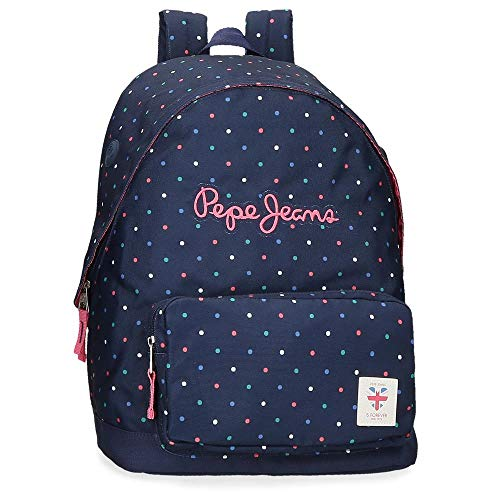 Pepe JeansMolly Adaptable BackpackNiñasMochilasAzul (598dark Ocean)1x1x1 Centimeters (W x H x L)