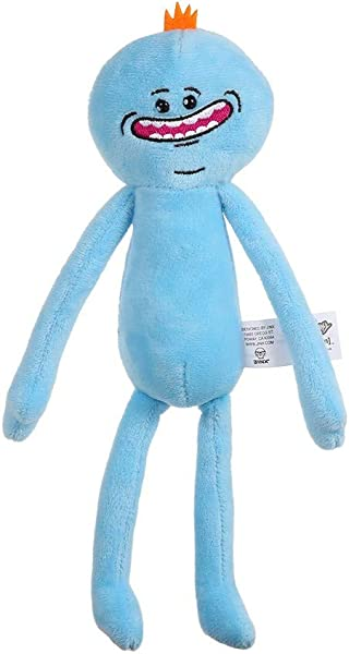 25CM Cute Cartoon Rick Plush Doll Morty Toy Kids Stuffed Toy Accessories Soft Pillow Birthday Gift