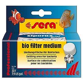 sera 0685 siporax mini Professional Hochleistungsfiltermedium für kleinere Aquarien