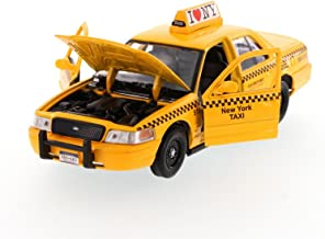 NYC New York City Taxi Cab Ford Crown Victoria 1:24 Scale I Love New York