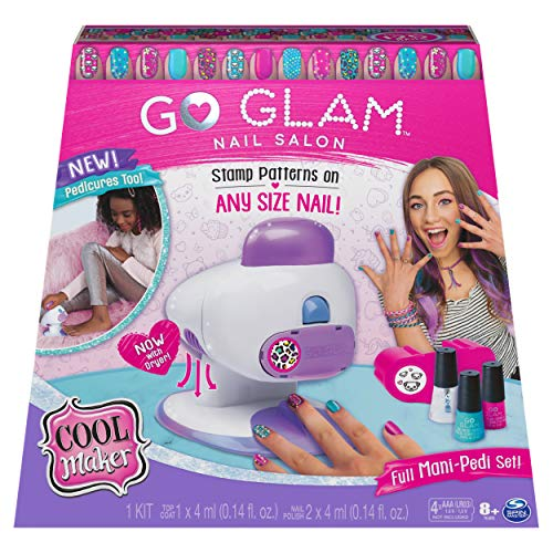Cool Maker, GO Glam Nail Stamper Salon for Manicures and Pedicures...
