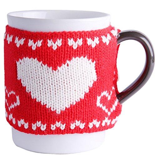LRW Mooie Trui Keramische Mok Glas Melk Cup Kantoor Koffie Cup Mok